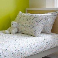 Multicolour Star Single Duvet Cover