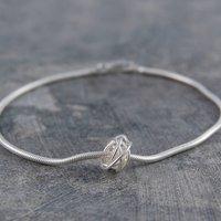 Charm Nest Silver Bracelet, Silver