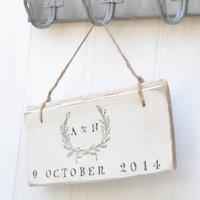 Wedding Garland Sign