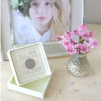 'Lucky Sixpence For Her Shoe' Boxed
