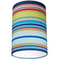 Wembury Multi Colour Deckchair Stripe Lampshade