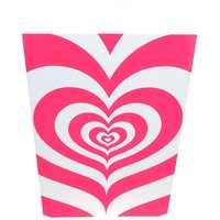 Pink Hypnotic Heart Card, Pink
