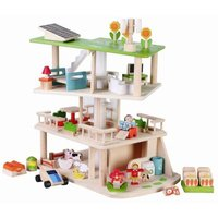 Eco Dolls House With Furniture