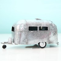 Metal Tourer Caravan Ornament