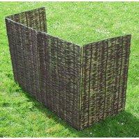 Windy Willows Wheelie Bin Screen Triple