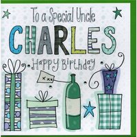 Personalised Uncle Birthday Card