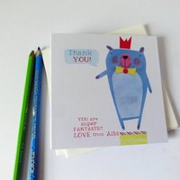 Personalised Super Fantastic Thankyou Cards