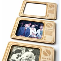 Retro Tv Magnetic Photo Frame
