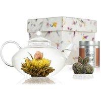 Prestige Flowering Tea Gift Set With Glass Teapot