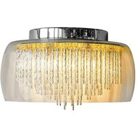 Glass Shade Contemporary Chandelier Wall Light