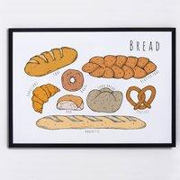 Bread Illustrated Print