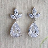 Zarina Crystal Earrings