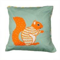 Decorative Squirrel Cushion