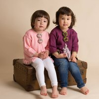 Hand Knitted Cardigan For Girls, Pink/Purple