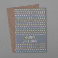 Dotty Birthday Card