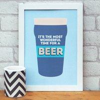 Beer A4 Print