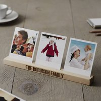 Personalised Family Photo Block