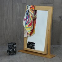 Wooden Hinged Mirror
