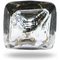 Mirror Glass Knob Croce