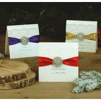 Opulence Luxury Personalised Christmas Card