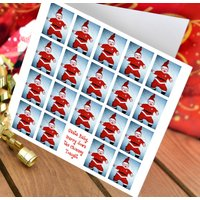 Santa Christmas 10 Card Pack