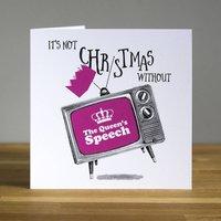 The Queen's Speech Christmas Card