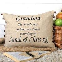 Worlds Best Granny Cushion