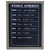 Weekly Chalkboard Organiser