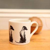 Serene Whippet Dog Mug