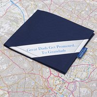 Personalised Blue Badge Permit Holder In Navy, Blue