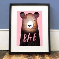 'Bae Bear' Print