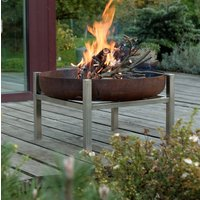 Steel Crate Fire Pit