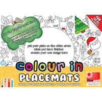 Colour In Placemats