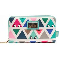 Dont Be Square Triangle Print Purse / Wallet