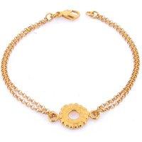 Dianthe Bracelet Fully Gold, Gold