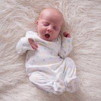 Acorn Dot Unisex Sleepsuit