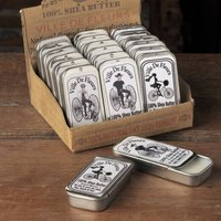Organic Shea Butter In Vintage Tin | Dry Lips And Hands