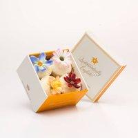 Four Cupcake Bath Melt Gift Box
