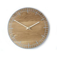 S2 Clock, Blue/Grey/White