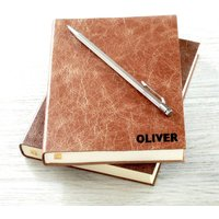 Personalised Leather 2020 Diary