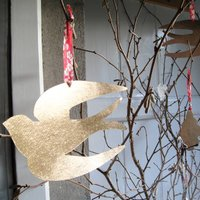 Golden Swallow Decoration