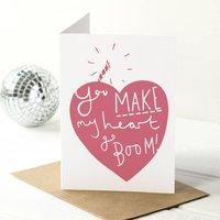 Explosive Valentine's Day Card