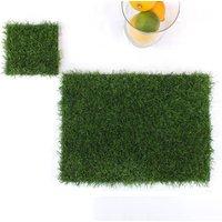Artificial Grass Place Mats Set Of Six