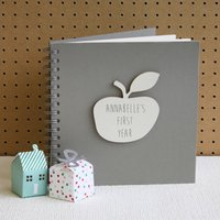 Personalised 'My First Year' Baby Book