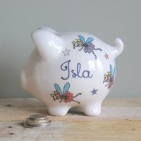 Personalised Piggy Bank For Girls