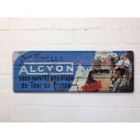 Vintage Style Tour De France Cycling Door Wall Sign