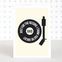 'You're Great Dad' Father's Day Card