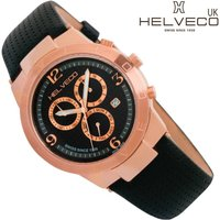 Constance Rose Gold Ip Unisex Chronograph Watch, Gold