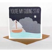 Guiding Star Anniversary Card