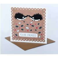 Hedgehogs Engaged Card